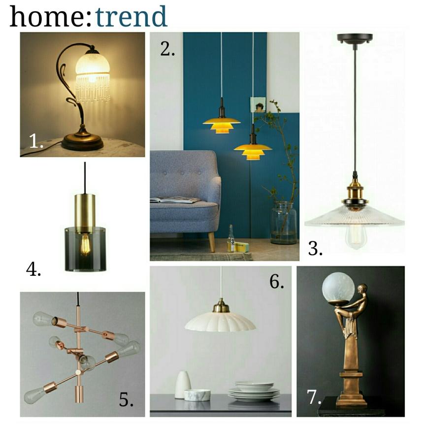 home: trend [ retro lighting]