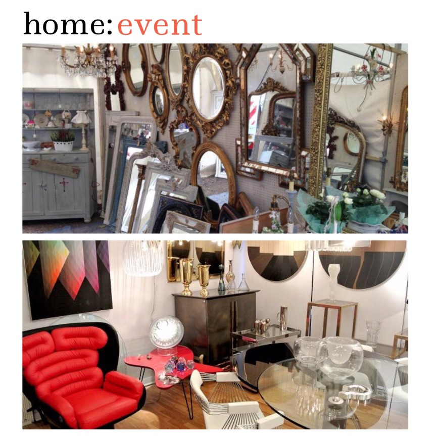 home: event [ antiques + vintage fair ]