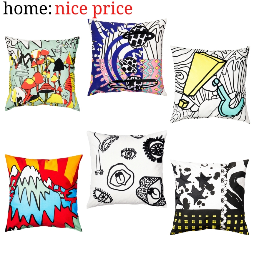 home: nice price [ Ikea x Kit Neale ]