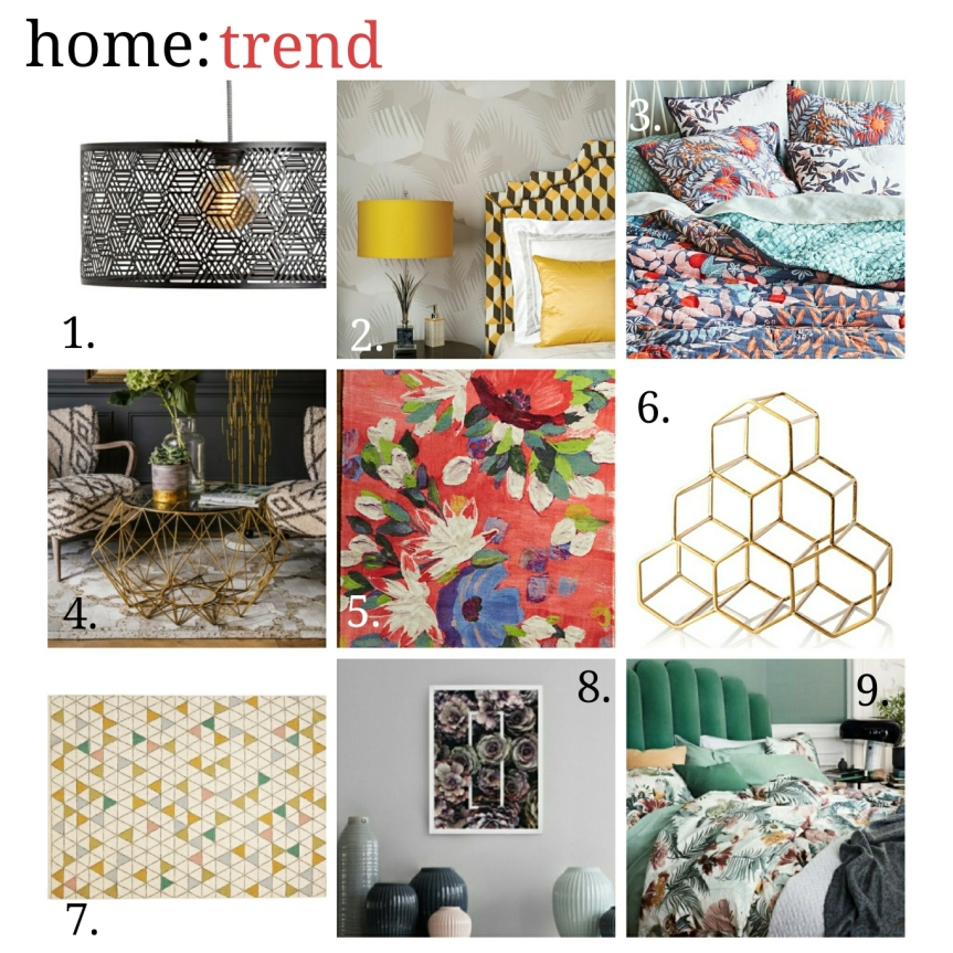 home: trend [ floral x geo ]
