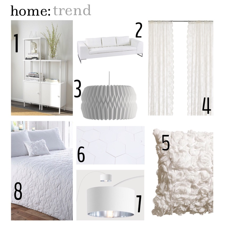 home: trend [ raw white ]
