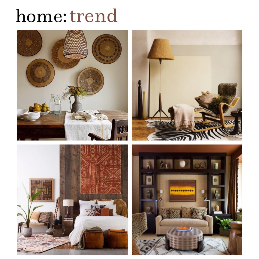 home: trend [ out of Africa ]