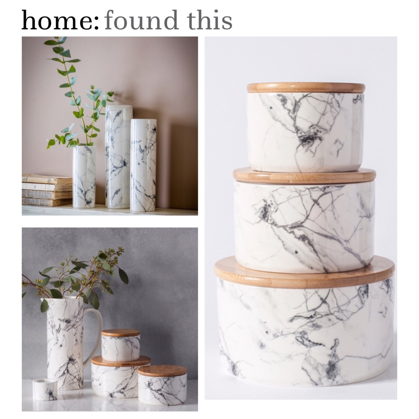 home: found this [ marble at BHS ]
