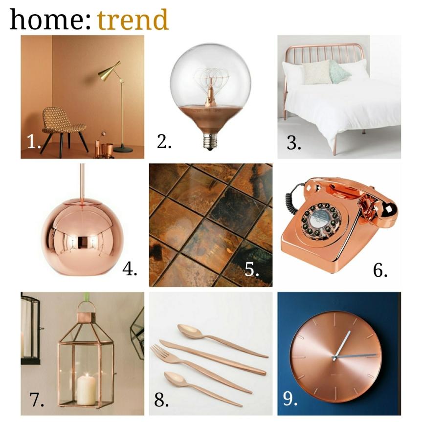 home: trend [ copper]