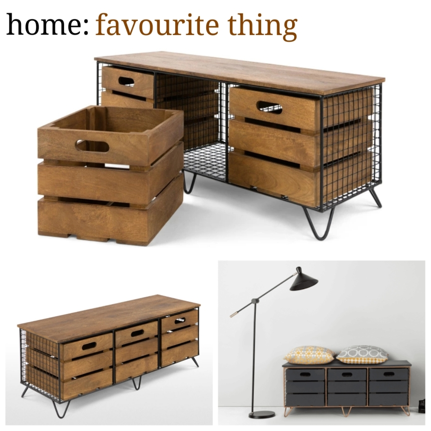home: favourite thing [ storage unit]