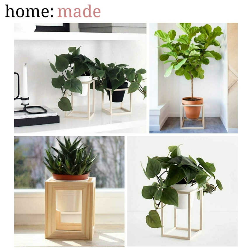 home: made [ cube planter stand ]