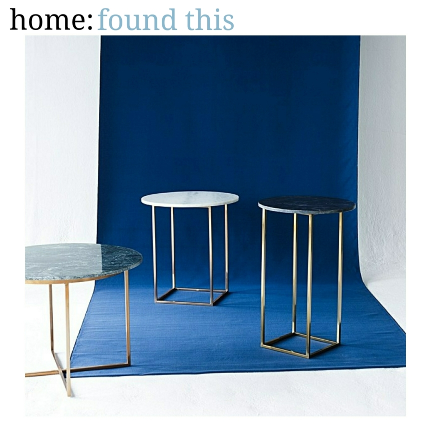 home: found this [ marble table ]