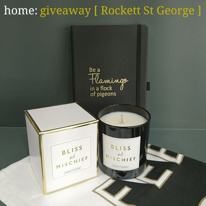 home: giveaway [ Rockett St George ]