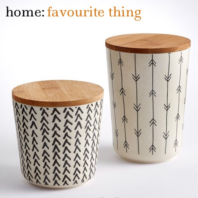 home: favourite thing [ storage containers ]