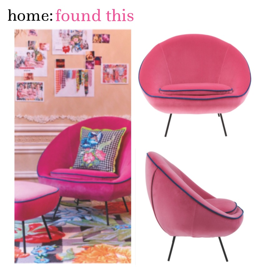 home: found this [ House of Holland armchair ]
