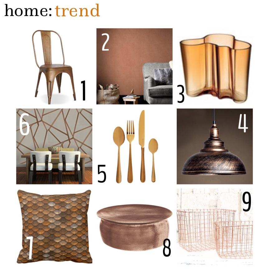 home: trend [ bronze ]