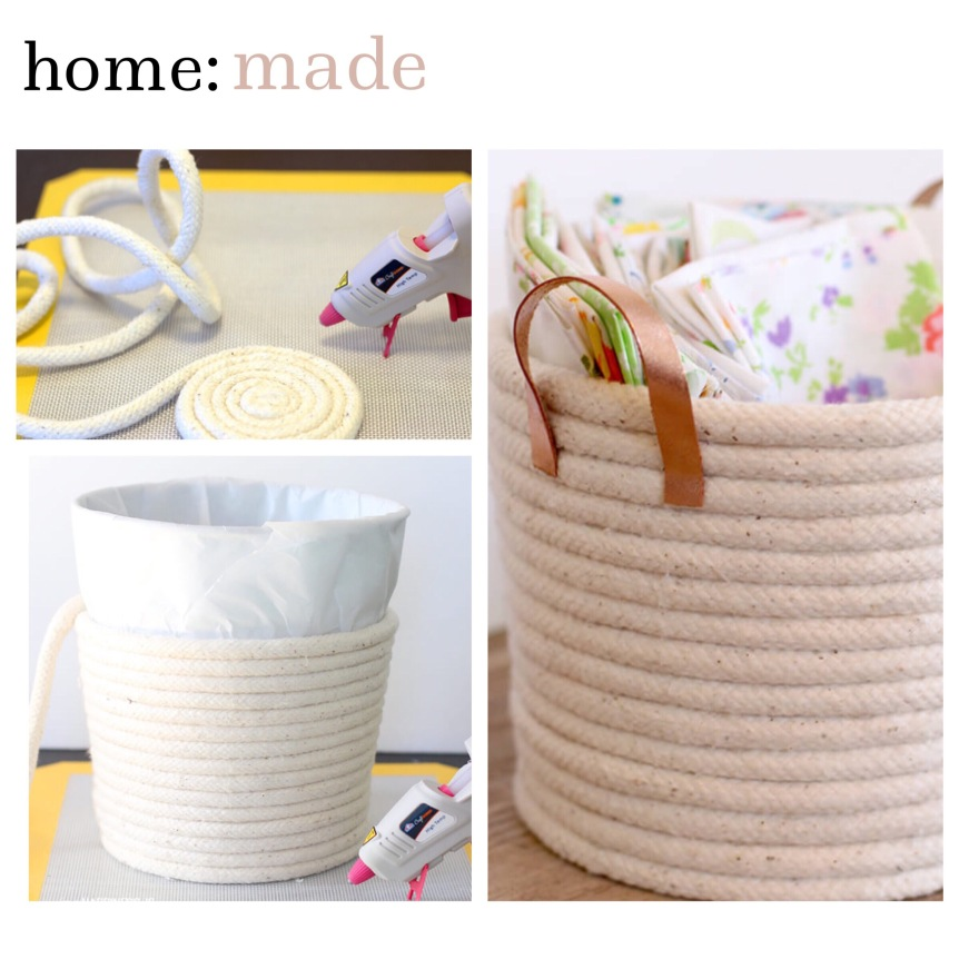 home: made [ diy rope basket ]
