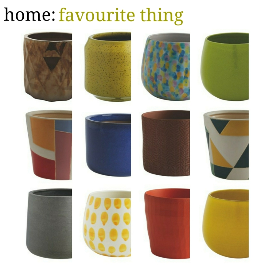 home: favourite thing [ planters ]