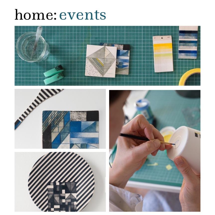 home: event [ ceramic painting ]