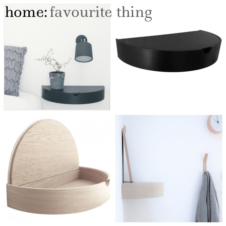 home: favourite thing [ hideaway shelf ]