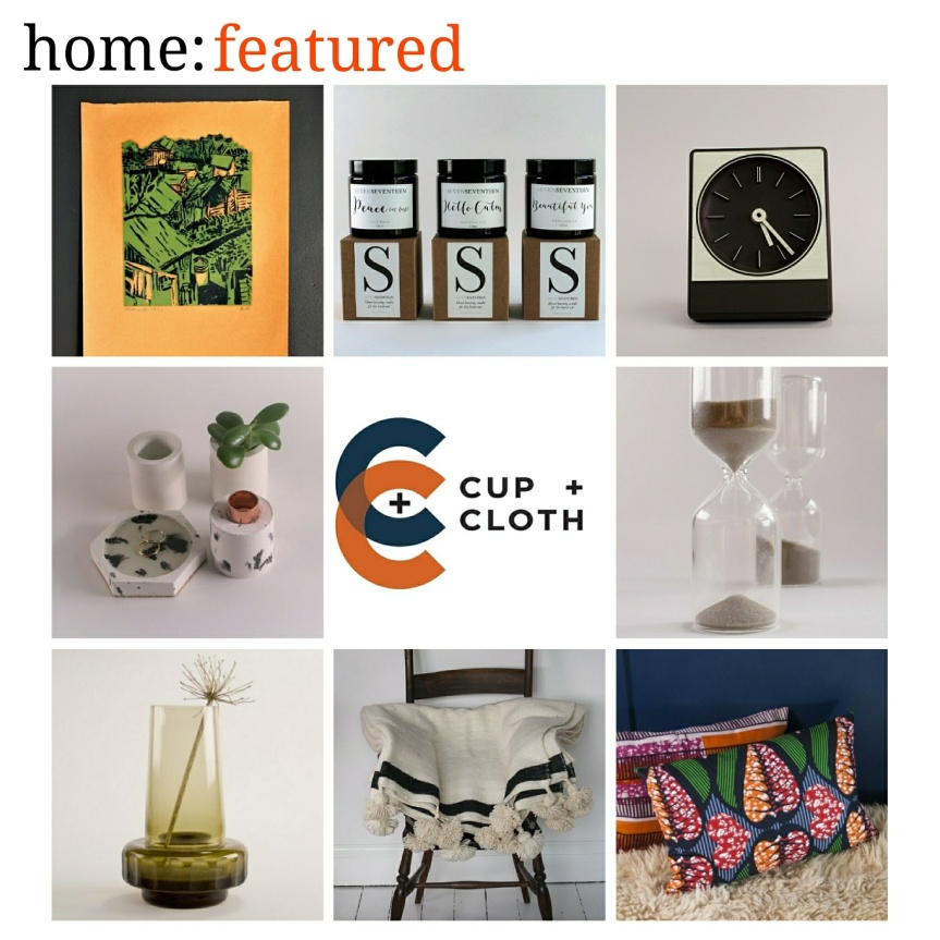 home: featured [ Cup + Cloth ]