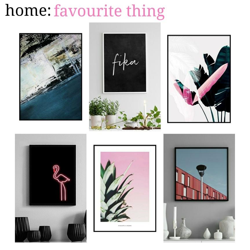 home: favourite thing [ Desenio]