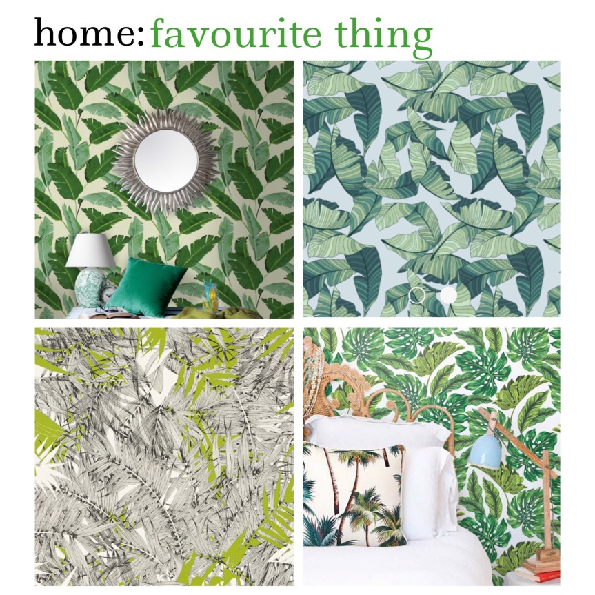home: favourite thing [ leaf wallpaper ]