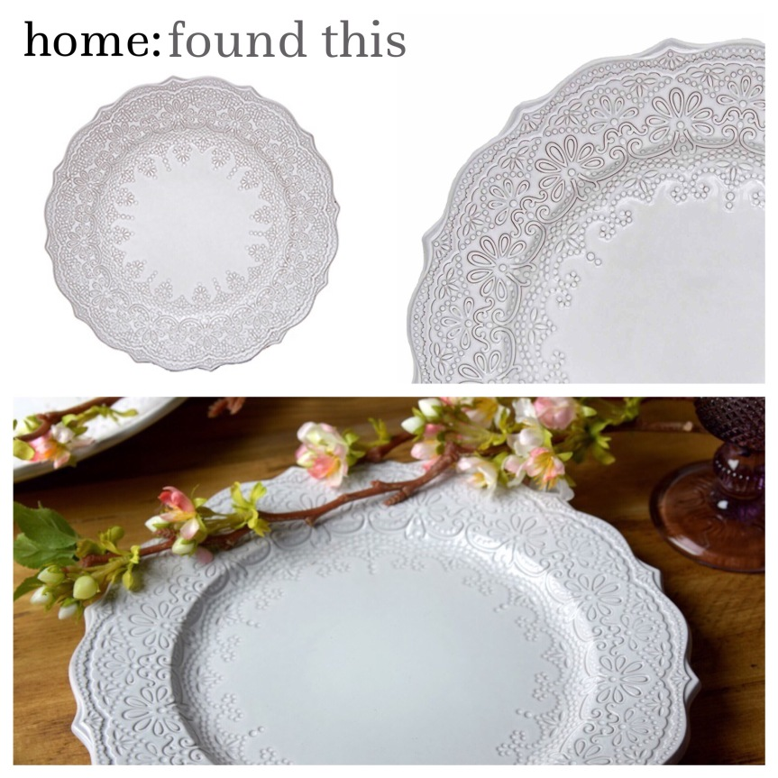 home: found this [ dinner plates ]