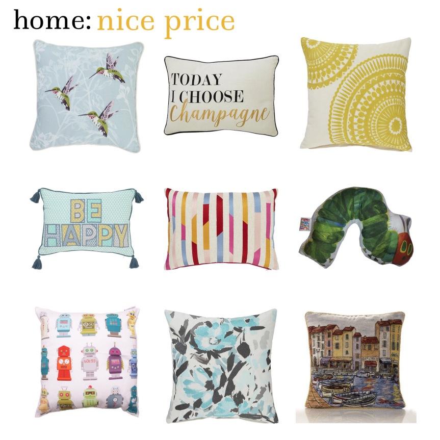 home: nice price [ cushions ]