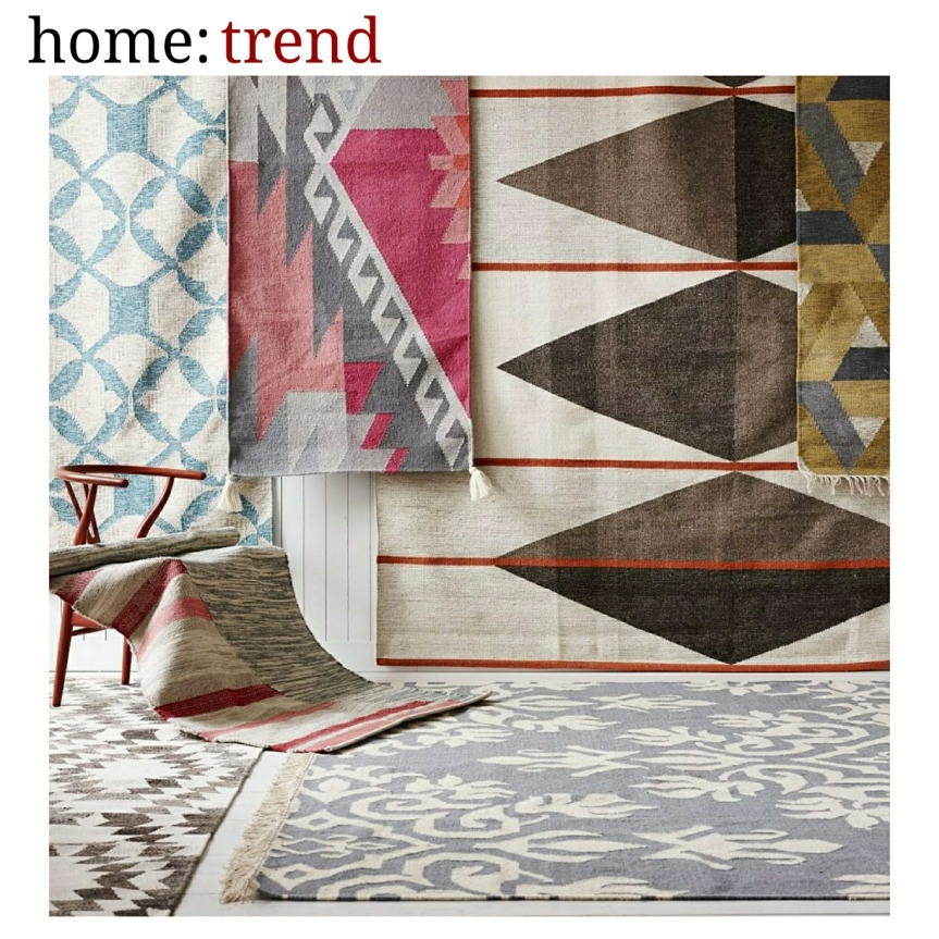 home: trend [ layered rugs]