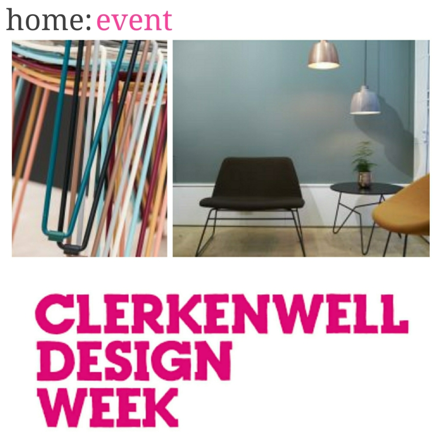 home: event [ Clerkenwell Design Week ]