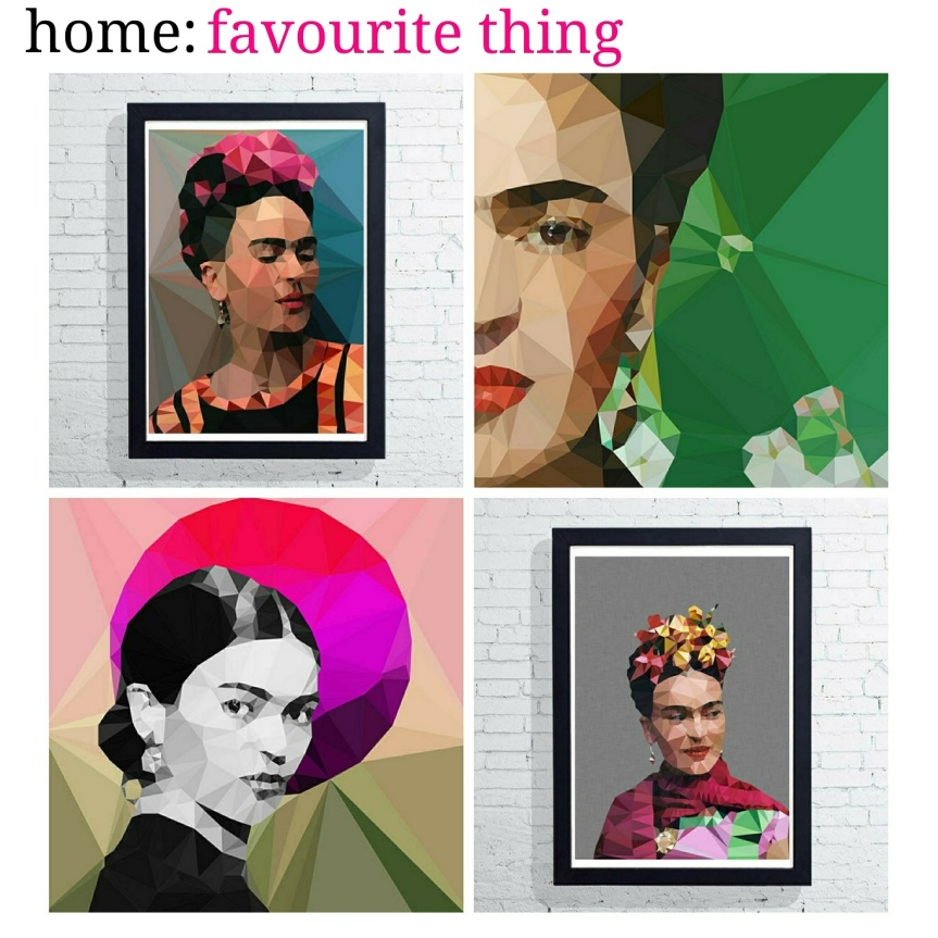 home: favourite thing [ Frida prints ]