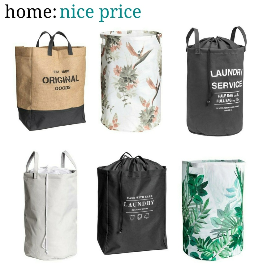 home: nice price [ laundry bags ]