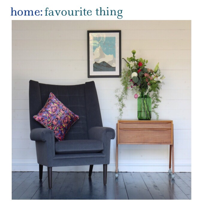 home: favourite thing [ vintage Danish armchair ]