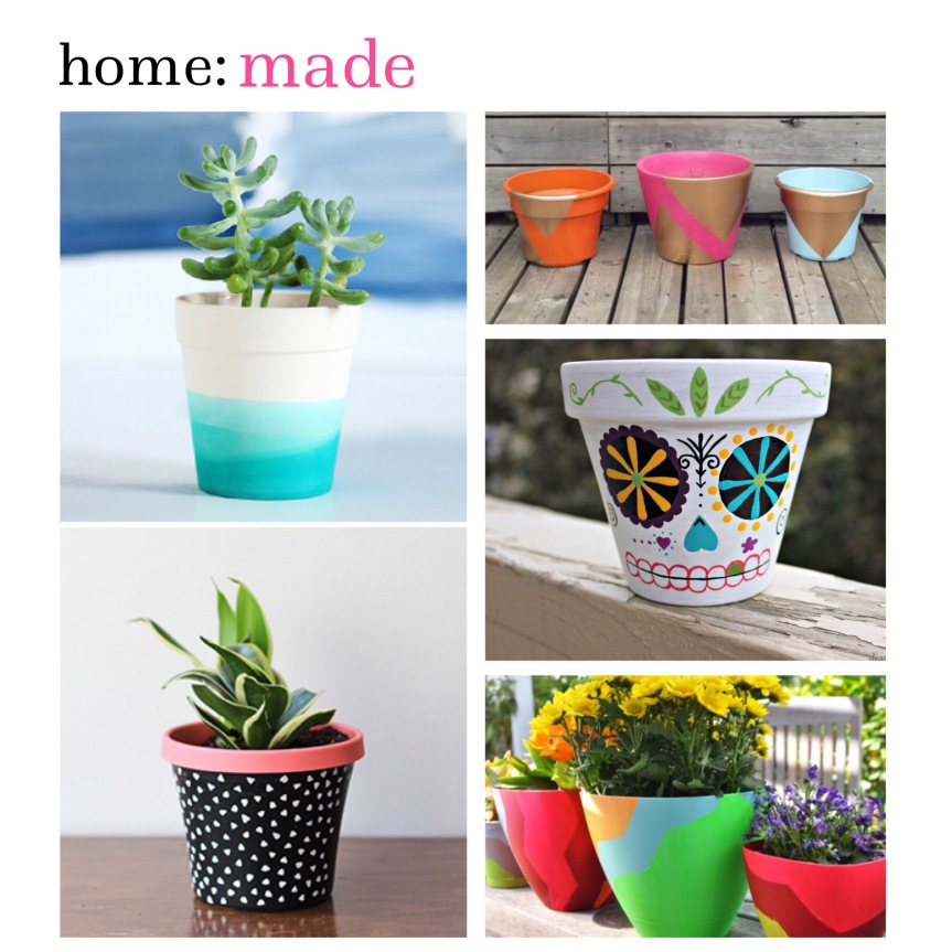 home: made [ garden pot design ]