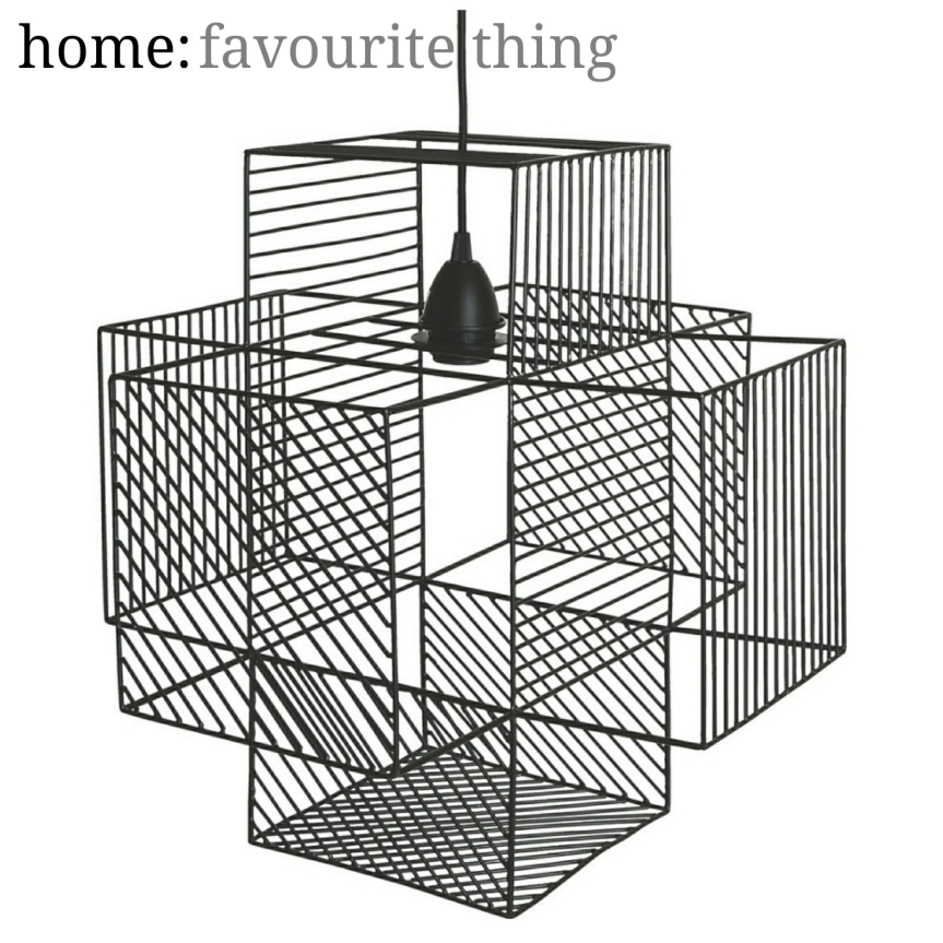 home: favourite thing [ ceiling shade ]