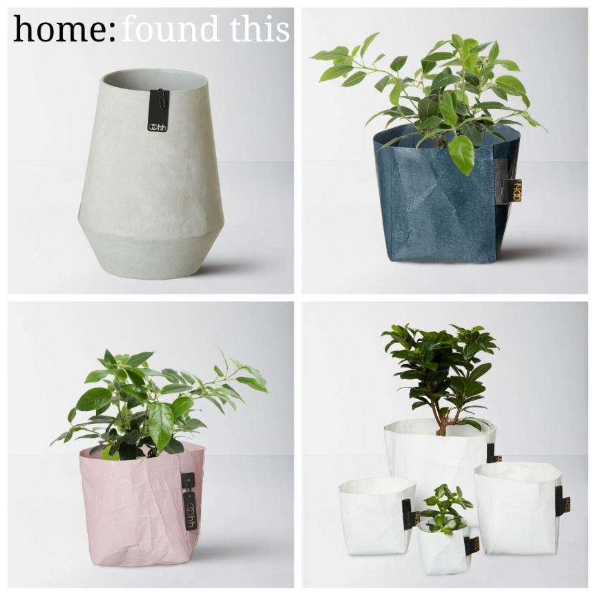 home: found this [ paper pots ]