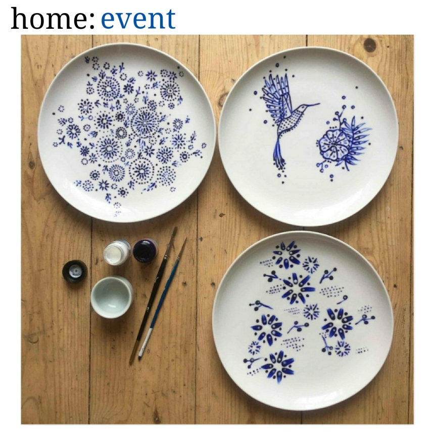 home: event [ ceramic painting workshop ]
