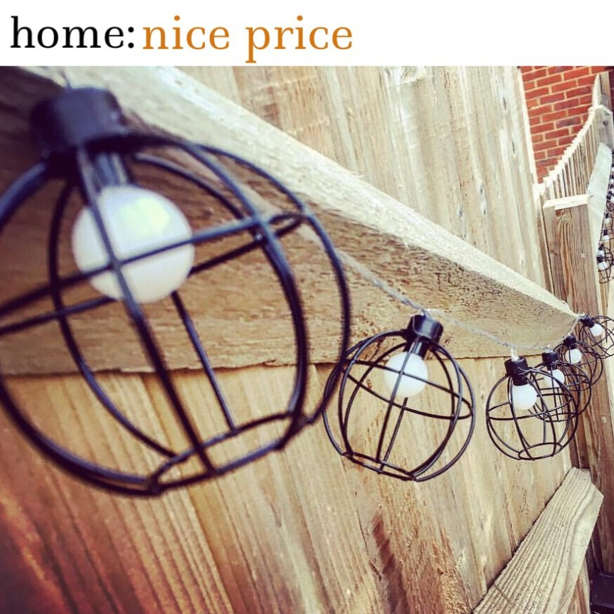 home: nice price [ garden lights ]