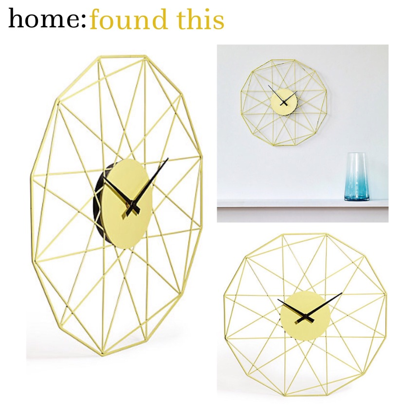 home: found this [ clock ]