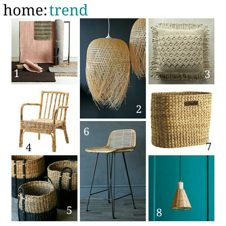 home: trend [ woven textures ]