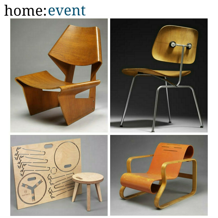 home: event [ Plywood: Material of the Modern World ]