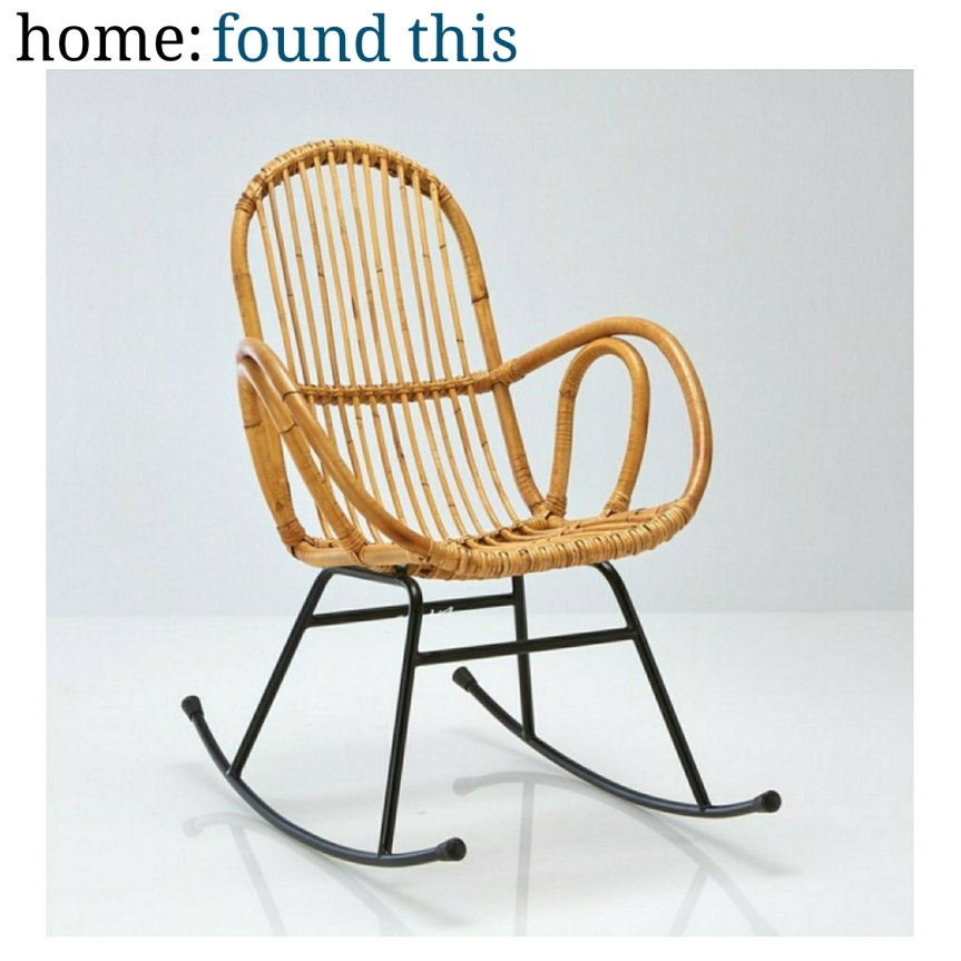 home: found this [ rocking chair ]