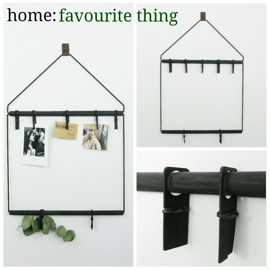 home: favourite thing [ hanging frame ]