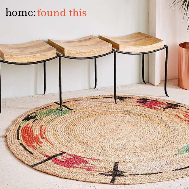 home: found this [ jute rug ]
