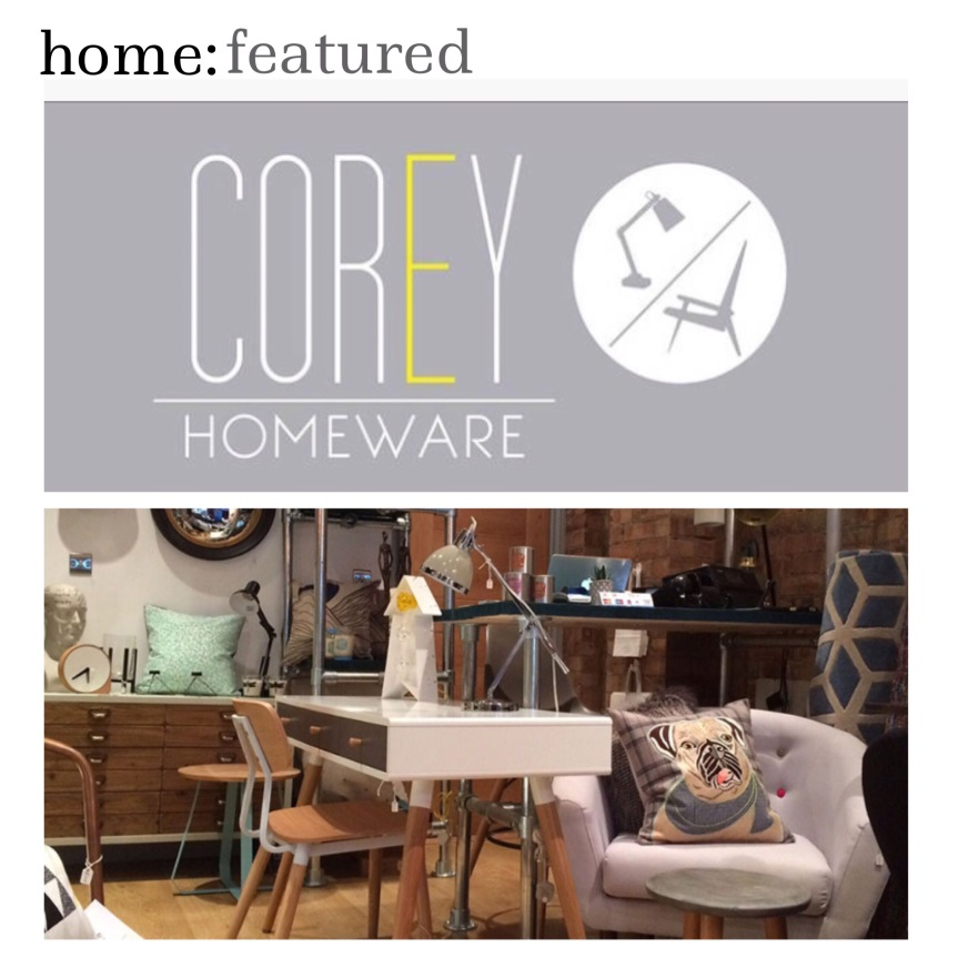 home: featured [ Corey Homeware ]