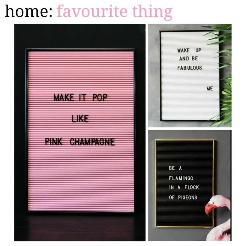 home: favourite thing [ cinema message board]
