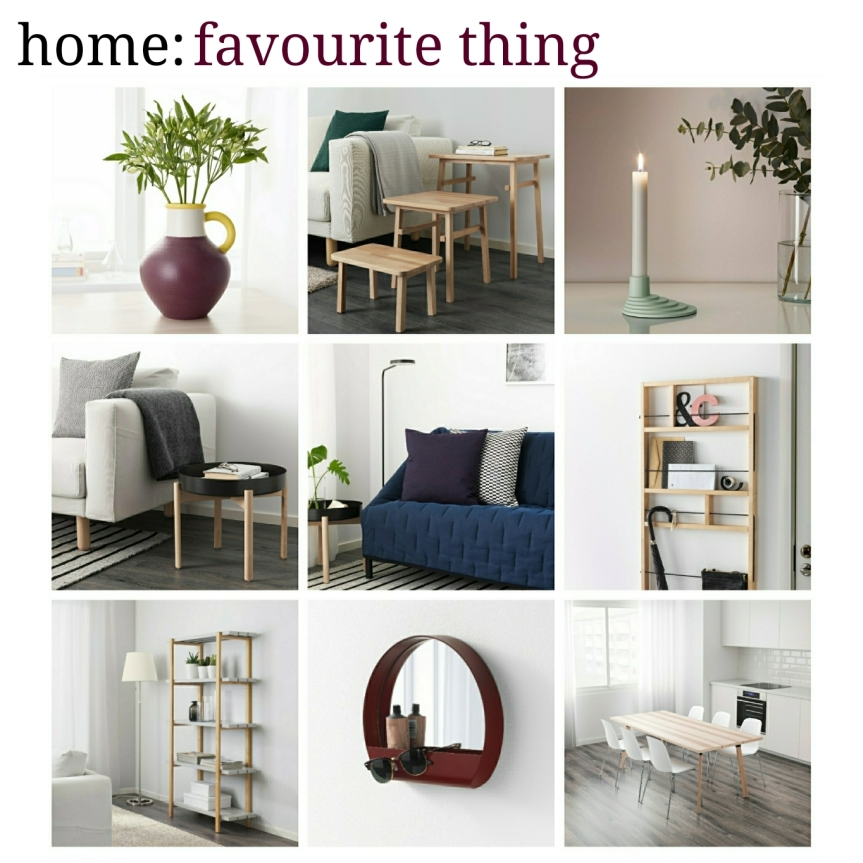 home: favourite thing [ Ikea x Hay ]
