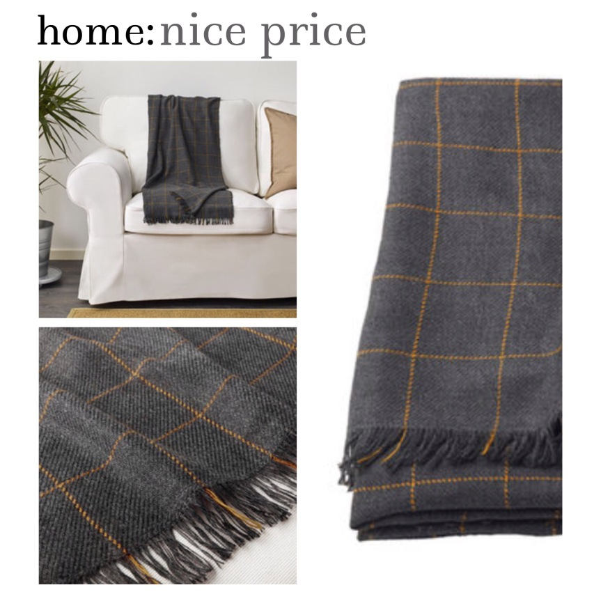home: nice price [ throw ]