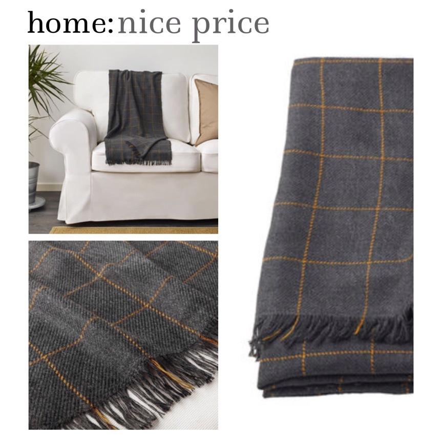 home: nice price [ throw ]
