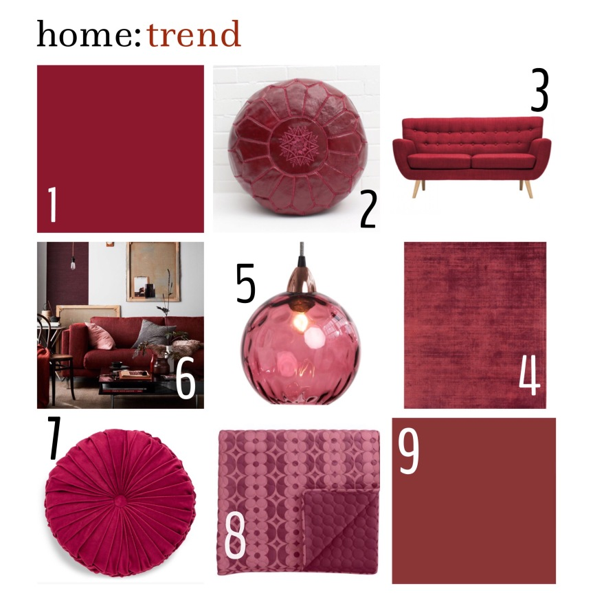 home: trend [ dark berry ]
