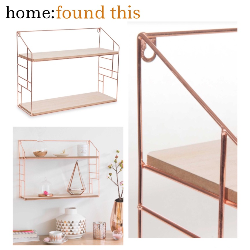 home: found this [ shelving ]
