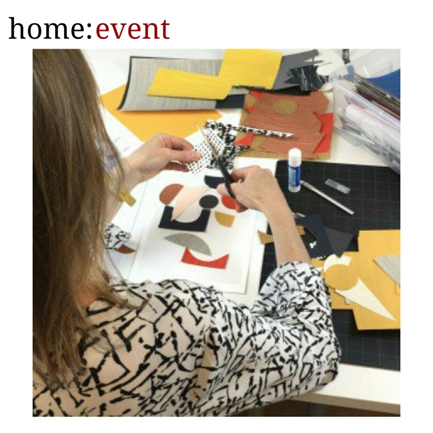 home: event [ mid – century collage workshop]