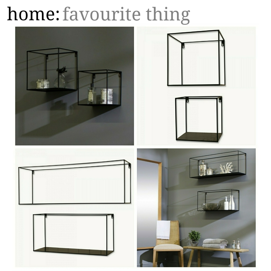 home: favourite thing [ floating shelves]