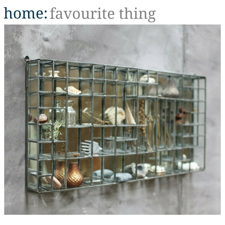 home: favourite thing [ display shelf ]